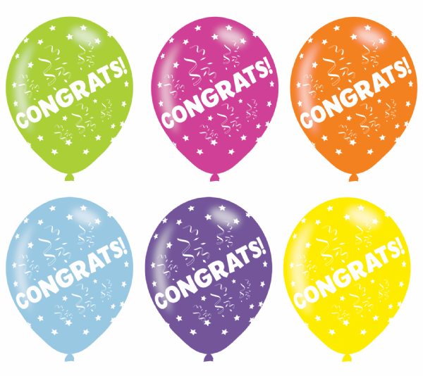 Congrats! Assorted Colours  11